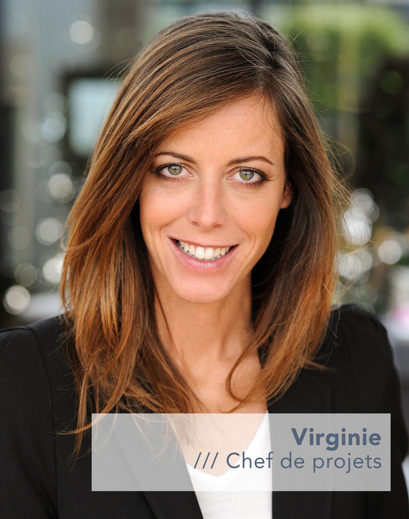 Virginie Chef de projets