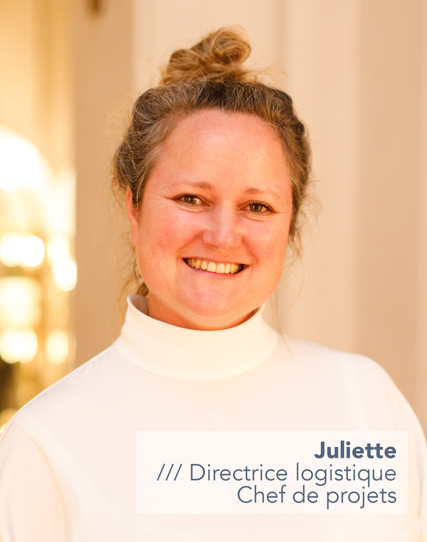 Juliette Joly /// Movida Consulting - Directrice Logistique